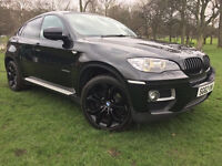 2012 62 BMW X6 3.0D 30D AUTO BLACK 4x4 DIESEL (CHEAPER PART EX WELCOME)***FINANCE AVAILABLE***