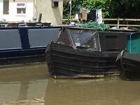 40ft Narrowboat/Canal Boat (springer Hull, cruiser stern)