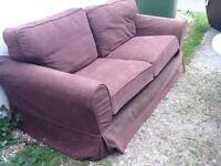 Full size sprung double sofa bed