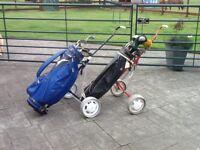 Golf clubs Mizuno MZX Precision Casting + bag + trolley