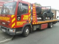 24/7 Emergency Car Recovery in Cambridge