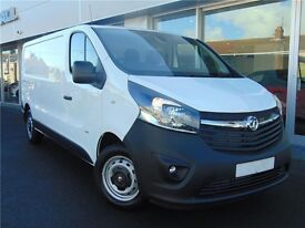 2016 VAUXHALL VIVARO 1.6 CDTI SWB WITH ONLY 14000 MILES. PLY LINED + LOTS OF EXTRAS FITTED. AS NEW.