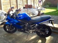 FOR SALE KAWASAKI ER6F 59 REG UNDER 5000 MILES
