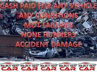 TOP MONEY PAID FOR UNWANTED SCRAP CARS VEHICLE NONE RUNNERS MOT FAILURES WEST BROMWICH