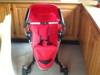 Quinny Zapp xtra in red