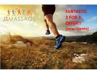 Sports/Deep tissue and relaxing massage ( 2 for 3 Offer!!!!) @ JSMassage