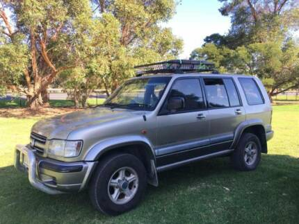 Sell Holden Jackaroo 2002