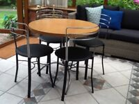 Coffee or dining table & 4 chairs