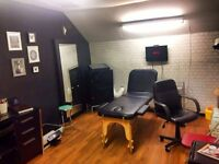 Tattoo/Permanent Make up/Aesthetics Room Available for rent.