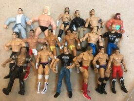 wrestling figures job lot