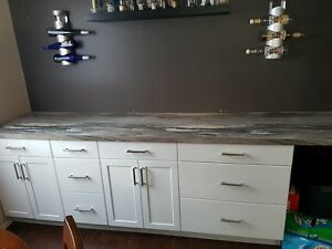 Looking to spruce up your kitchen. Try new countertops!!!