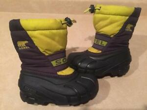 Toddler Size 9 Sorel Winter Boots