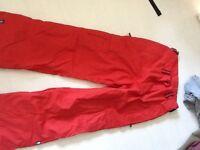 Ski snowboarding trousers