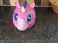 Girls raskullz unicorn helmet