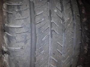 4 pneus d'été 205/55/16 Continental Contiprocontact, 35% d'usure, 8/32 de mesure.