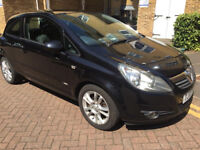 2007 VAUXHALL CORSA 1.2 i 16v SXi 3DR, ONLY 65K WITH SERVICE HISTORY, 9 MONTHS MOT, LADY OWNER,