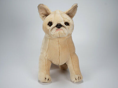 French Bulldog Puppy by Piutre, Hand Made in Italy, Plush Stuffed Animal NWT ()