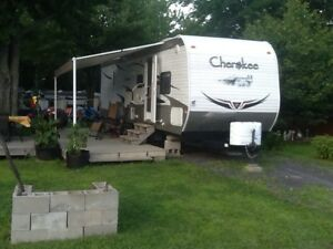 Roulotte Cherokee 2011, 30 pieds