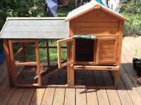 Very big rabbit hutch/run - used but in good condition
