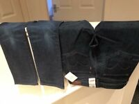 2 BRAND NEW WITH LABELS LADIES LEVIS DENIMS