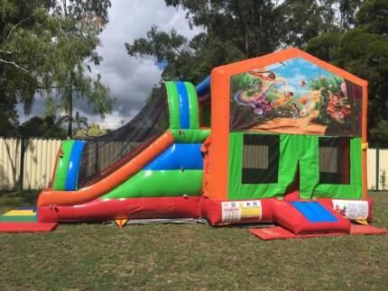 Tinkerbell MegaSlide combo Jumping Castle