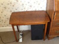Light Oak Coffee/lamp Table