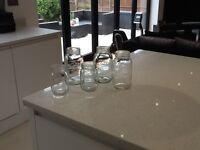 50x (approx) Kilner jars