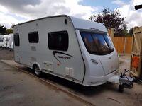 2013 Lunar Quasar 462 2 berth caravan MOTOR MOVER FITTED Awning, VGC Bargain !