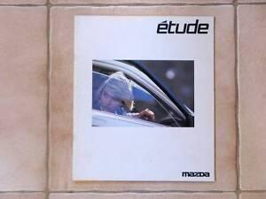 Mazda étude brochure - 1987 BF 323 Famila JDM Kalorama Yarra Ranges Preview