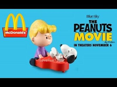 NEW IN BAG Peanuts Schroeder and Snoopy Piano Figure McDonald's Happy Meal Toy