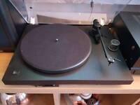 Project turntable marantz amp