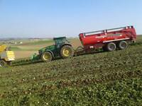 Grain trailers and silage