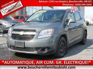 2012 Chevrolet Orlando LT *AIR CLIMATISÉ, AUTOMATIQUE, BLUETOOTH