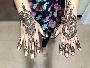 Henna for Diwali Bowen Hills Brisbane North East Preview