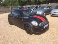 2013 [13] MINI COUPE COOPER 1.6 PETROL 39,000 MILES LONG MOT