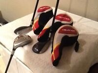 Taylor Made set of 3 fairway rescue golf clubs - VERY GOOD CONDITION