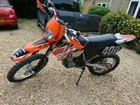 ktm exc 400 motocross scrambler road legal crf kx cr