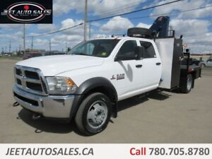 2014 Dodge Ram 5500 SLT Picker Crane