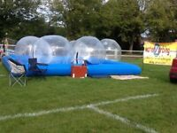 Complete Zorbing Business for sale Earn EXTRA CASH when you like