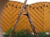 Strong Wooden Steps /Ladder ideal for home DIY