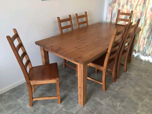 BIG family sized dining set! Glen Waverley Monash Area Preview