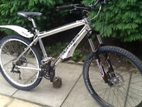 Merlin mountain bike with avid hydraulic disc brakes