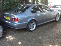 BMW 5 Series 530i SE 4 Dr (silverstone blue metallic) 2003