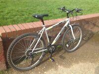 "Trax TR.1 Rigid Mountain Bike Bicycle - 26"" Wheels / Steel Frame / 18 Gears"