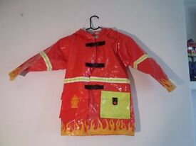 kiddorable firemans jacket coat age 3 - 5