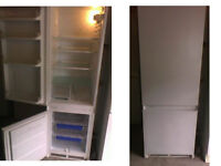 PLEASE RING OR TEXT FIRST HOTPOINT INTERGRATED FRIDGE FREEZER 70 INCHES HIGH X 21 INCHES WIDE