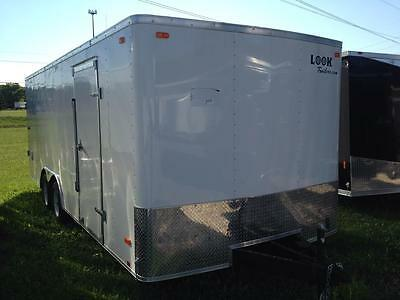 18 Ft Enclosed Look 7000 Lb Gvw Cargo Trailer 4999.00