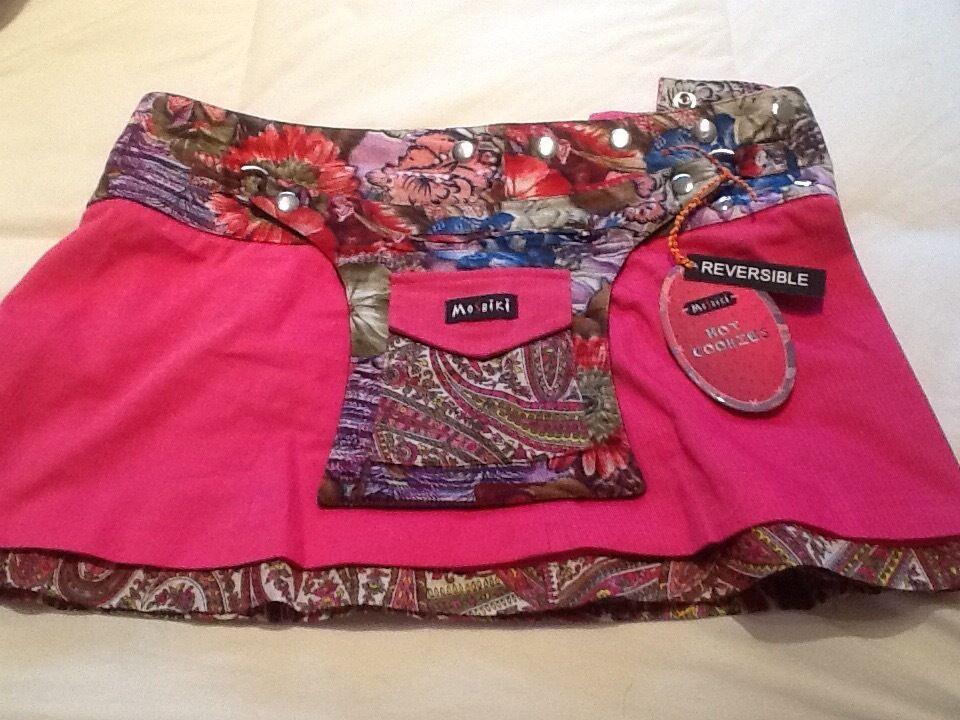 Exclusive mini skirt - fuchsia pink