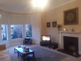 Stunning Morningside flat available to share - would suit professional female - owner works away