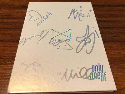 ONLY ONE OF -  ALL MEMBER Autographed (signed) PROMO CD Album KPOP (MESSAGE)